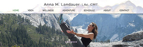Anna Landauer Yoga, Wellness, Adventure